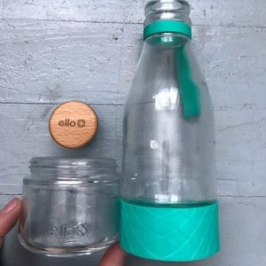 NWOT Glass diffuser water bottle from Ello
